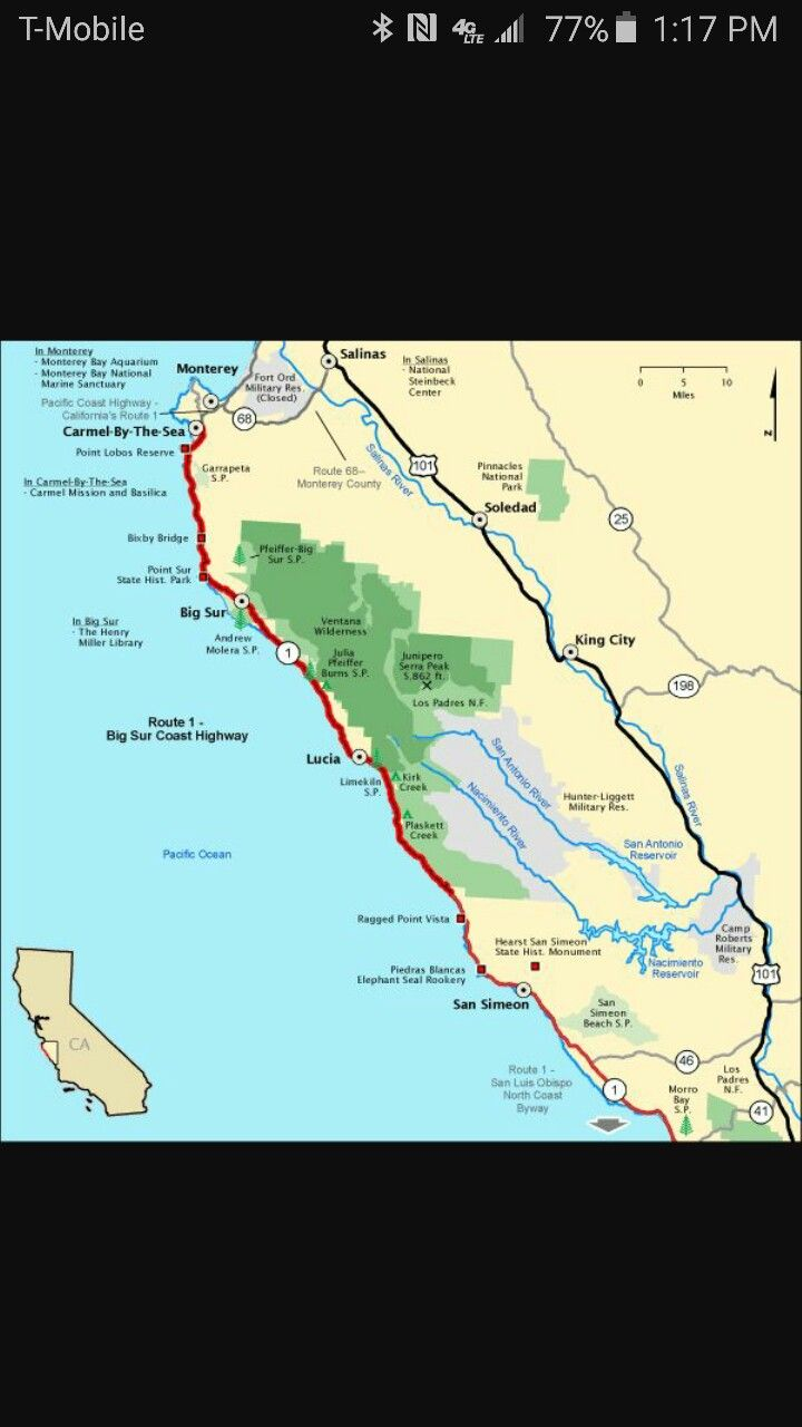 California Map Hwy 99%0A Super   Foods  Whitefish MT