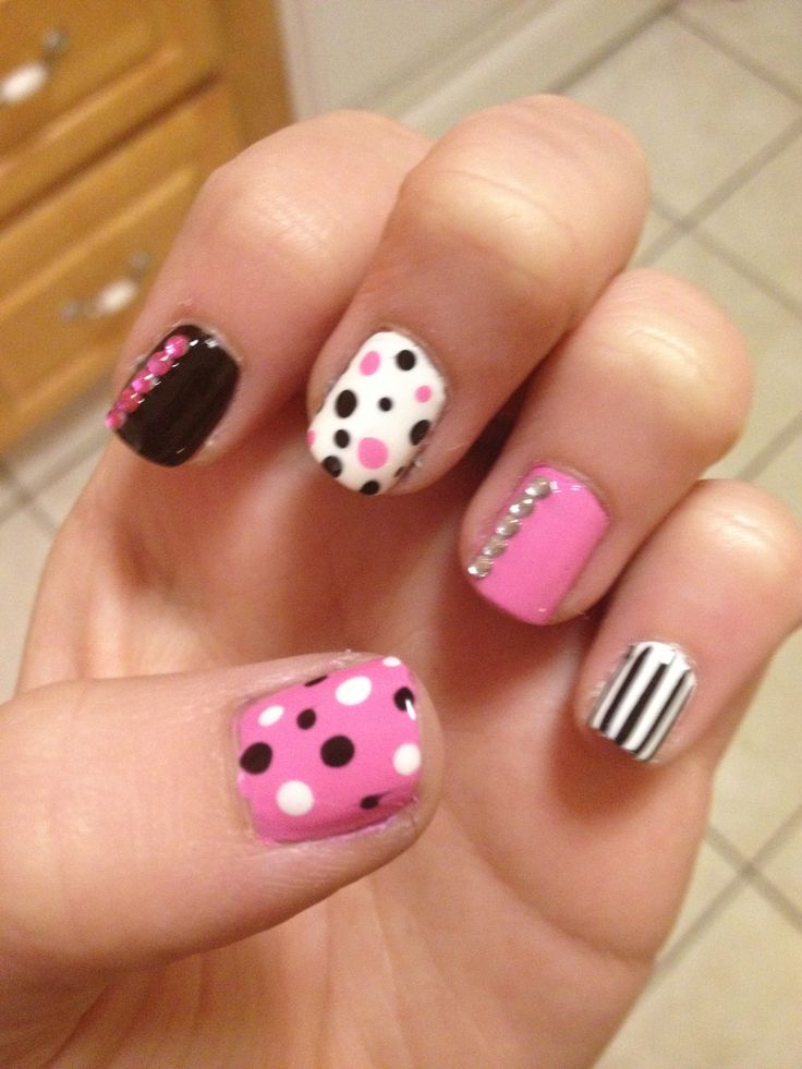 Cute girly nails - 33 Best Nails Images On Pinterest Make Up, Cute Nails And Enamels