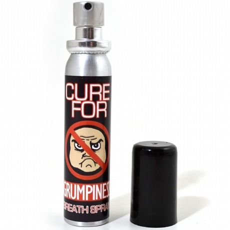Cure For Grumpiness Breath Spray