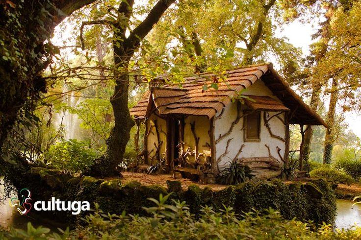 Jardim romântico da Quinta da Aveleda, no norte de Portugal. Roteiro de viagem