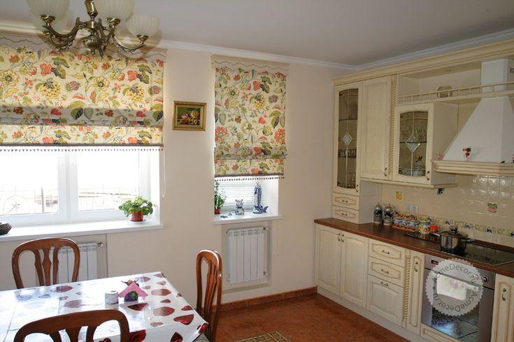 Шторы и жалюзи для кухни, шторы в кухню, кухонные шторы