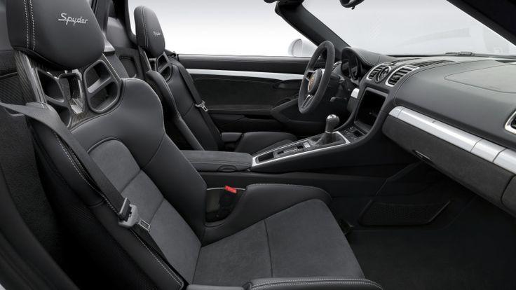 2016 Porsche Boxster Spyder marks the return of something great