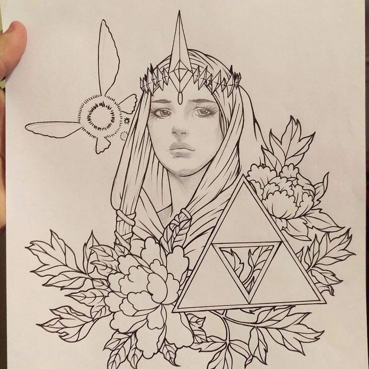 Legend of Zelda tattoo design | Art Amino