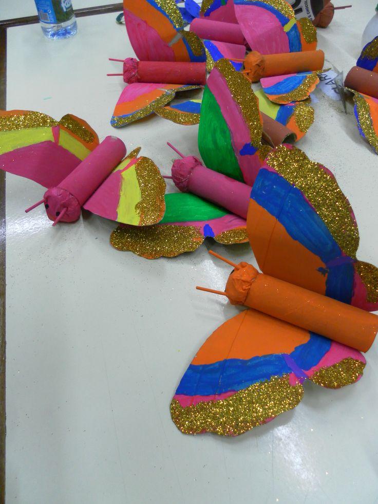 Vlinder voor kleuters / Primavera   Pré-Escolar