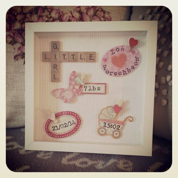 Hey, I found this really awesome Etsy listing at https://www.etsy.com/listing/181208487/beautiful-new-baby-girl-boy-scrabble-art