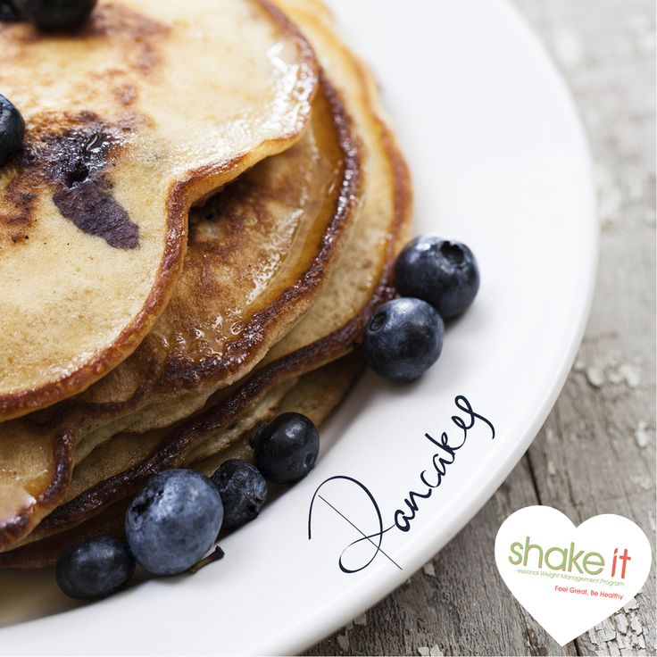 If you thought you'd never see a pancake whilst on the Shake It Professional Weight Management Program, think again! Katy's Sensational Shake It Pancakes are a delicious and healthy way to start your day! http://shake-it.com.au/Shake-it-Breakfast-Katy's-Sensational-Shake-it-Pancakes.html