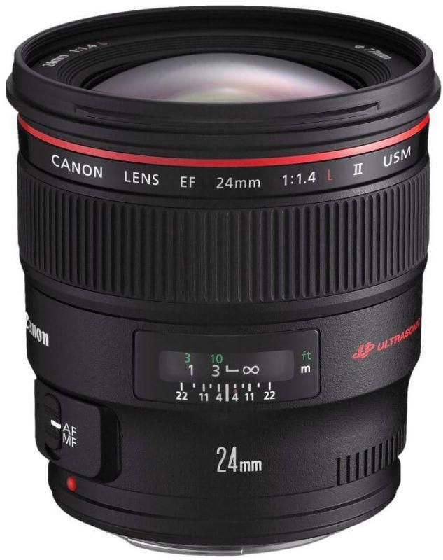 Объектив Canon EF 24 mm f/1.4L II USM ―  Fotofishka.ru - интернет магазин фототехники