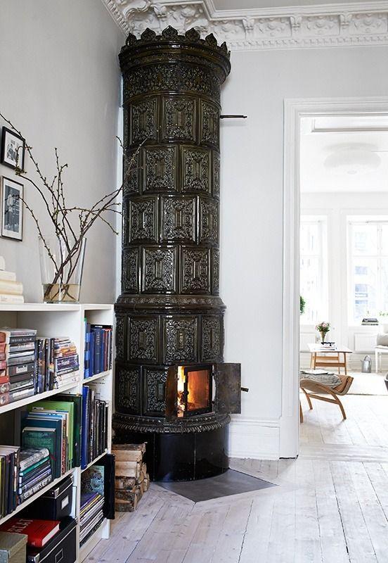 74 besten klassische schwedische kachel fen bilder auf pinterest gotland kachelofen und fen. Black Bedroom Furniture Sets. Home Design Ideas