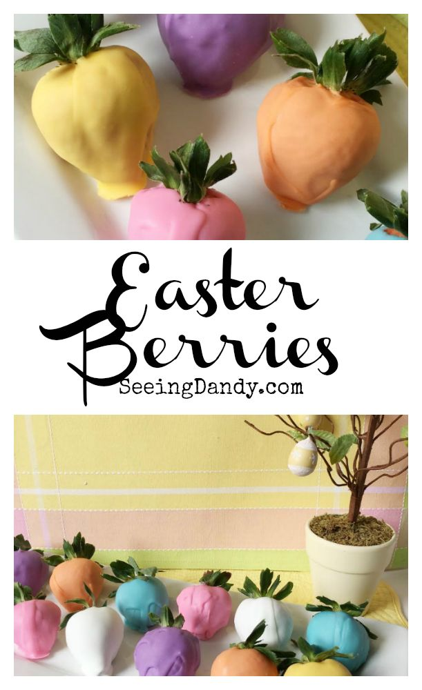This Easter egg chocolate covered strawberries recipe is perfect for springtime and gluten free!