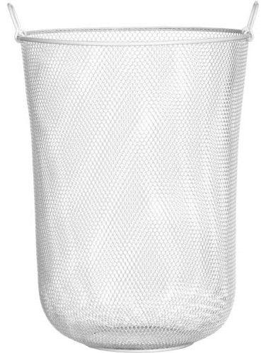 industrial mesh hamper - modern - hampers - CB2
