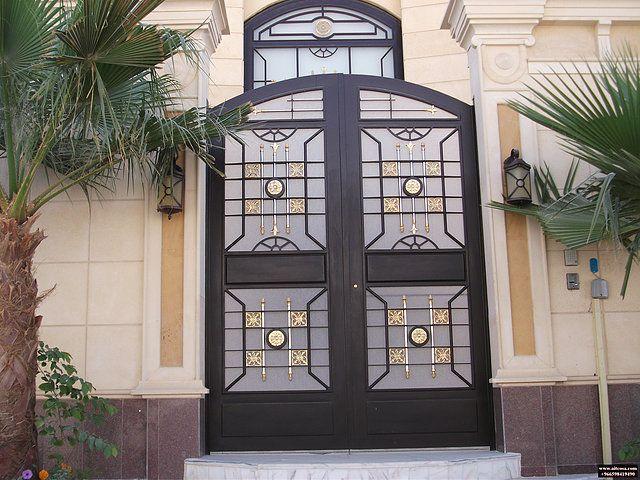 ابواب Riyadh شركة التجارة العالمية المتقدمة Aitco Iron Gates Doors Home Decor