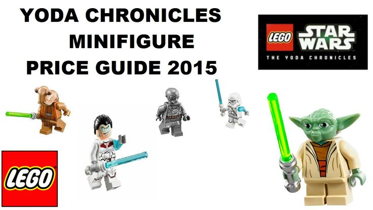 LEGO STAR WARS YODA CHRONICLES price guide names