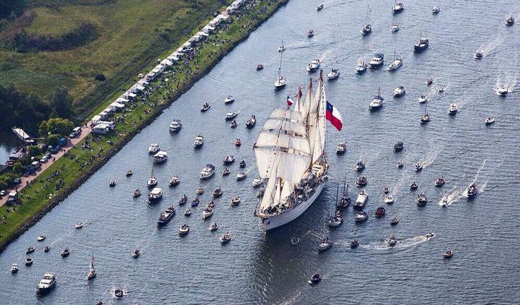 Amsterdam Sail Esmeralda 2015