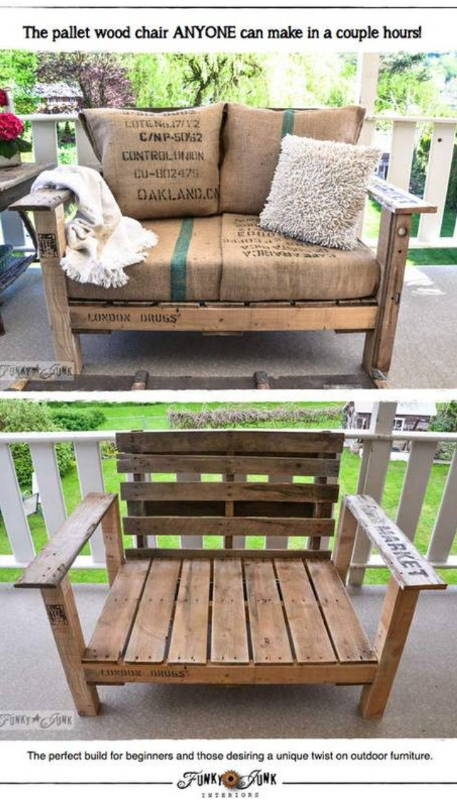 Best Of Pallet Balcony Furniture