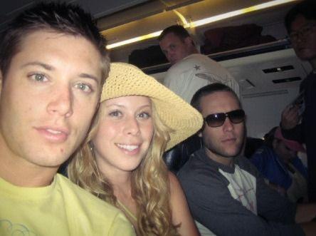 Jensen, lil sis Mackenzie, and Rosie