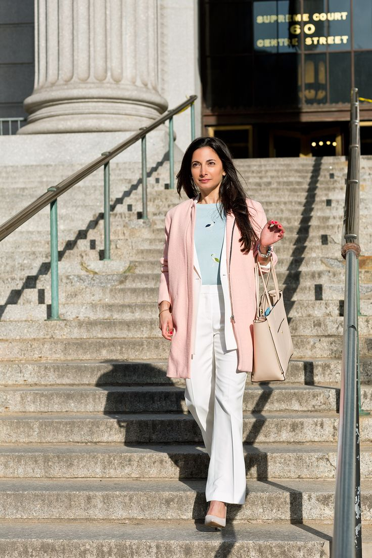 cute work outfit!  Spring Trends That Work For Work #refinery29 http://www.refinery29.com/work-trends#slide10