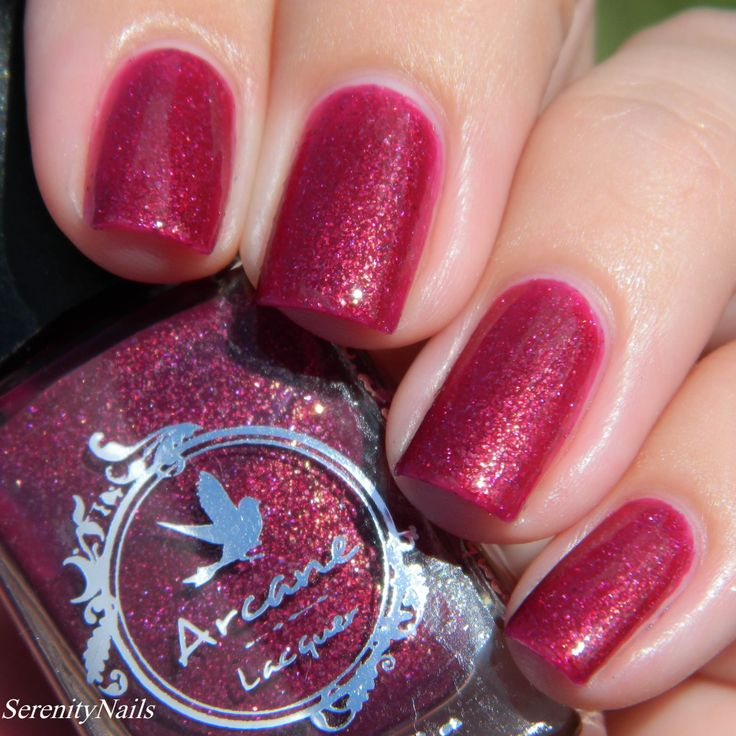 Arcane Lacquer Running Red Sunlight