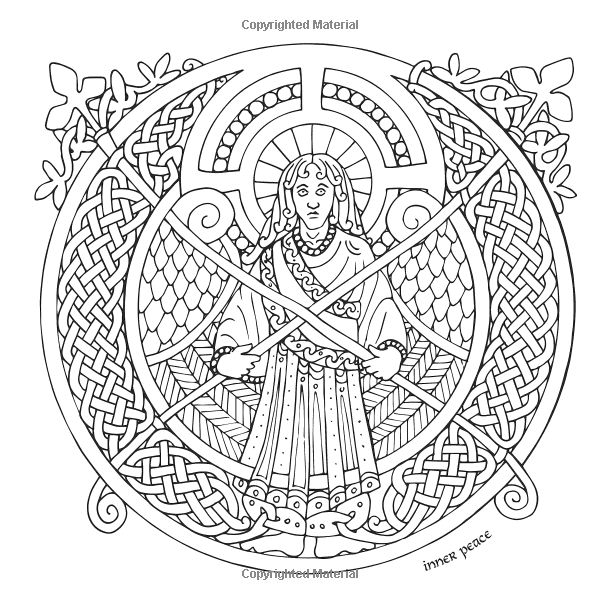 IColor Celtic Adult ColoringColoring BooksInner PeaceColour