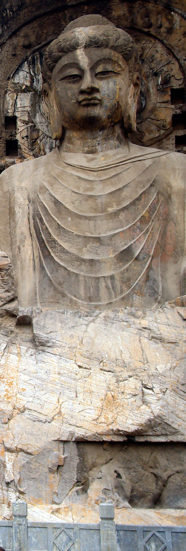 The Longmen Grottoes or Longmen Caves - UNESCO World Heritage Site - Luoyang…