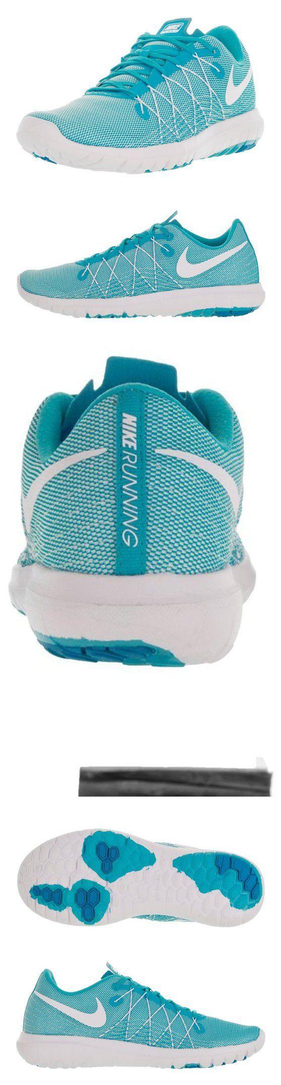 $90 - Nike Women's Flex Fury 2 White/Gamma Blue/Blue Lagoon Running Shoe 8 Women US #shoes #nike #2016