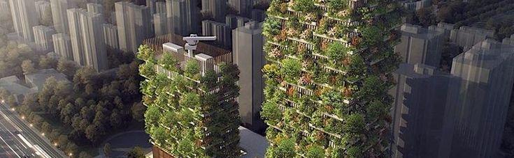 200 beziehungsweise 108 Meter hoch werden die Nanjing Towers sein, wenn sie im kommenden Jahr fertig sind. Dann wird der höhere der beiden Türme Büros, ein Museum, eine Architektenschule und einen Club beherbergen. Im kleineren Turm gibt es dann ein Hotel mit 247 Zimmern und einen Pool auf dem Da...