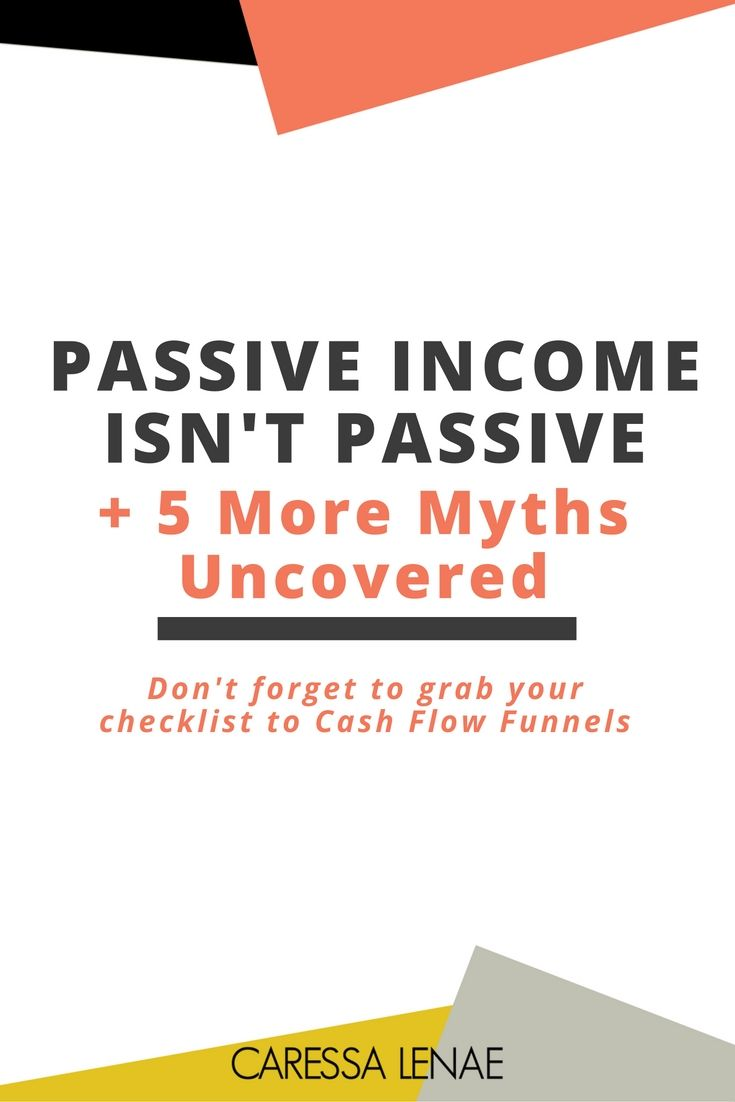 Sales funnels can bring about many success stories and many myths. If you've been in business for 6 months or even years, question about spending money on ads, not sure what the significance of an email sequence, have a brick and mortar business or more, you've got to click through and read the TRUTH about passive income & sales funnels. via @CaressaLenae