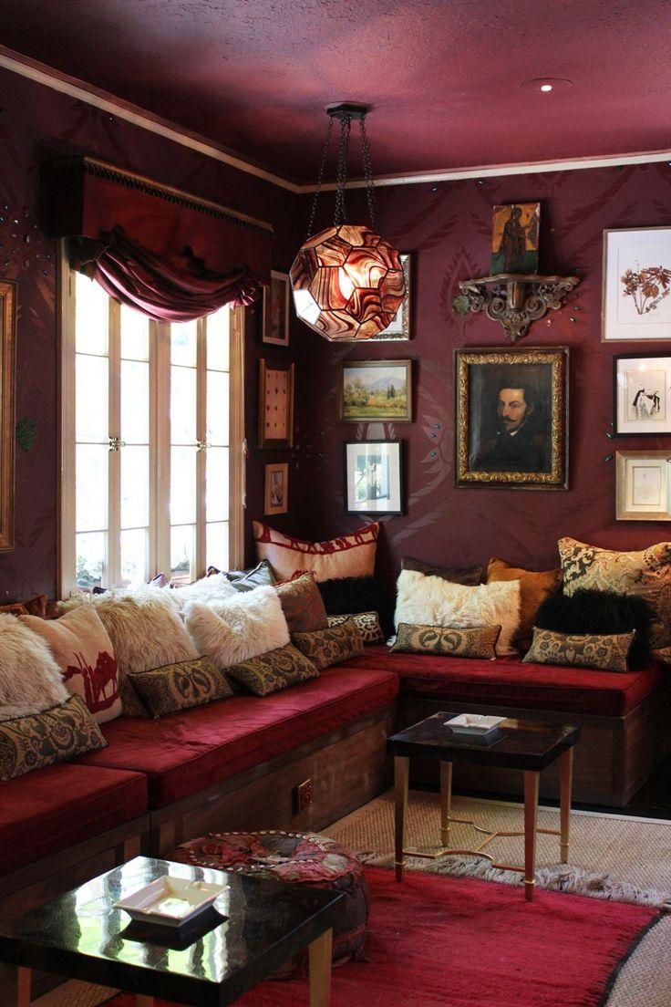39 Best Burgundy Decor Images On Pinterest   Burgundy Living Room, Living  Room And Burgundy Curtains