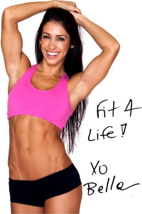 Bella Falconi....I think I'm obsessed with her :/ My goal is to look somewhat like her before summer :)