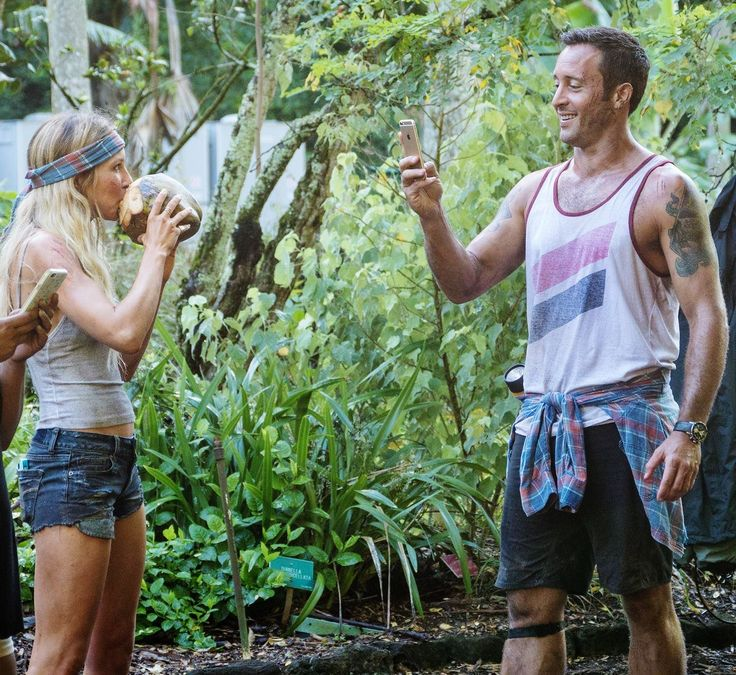 ♥♥♥ BTS #H50 ep 6.07 - Sarah  Carter and Alex O'Loughlin