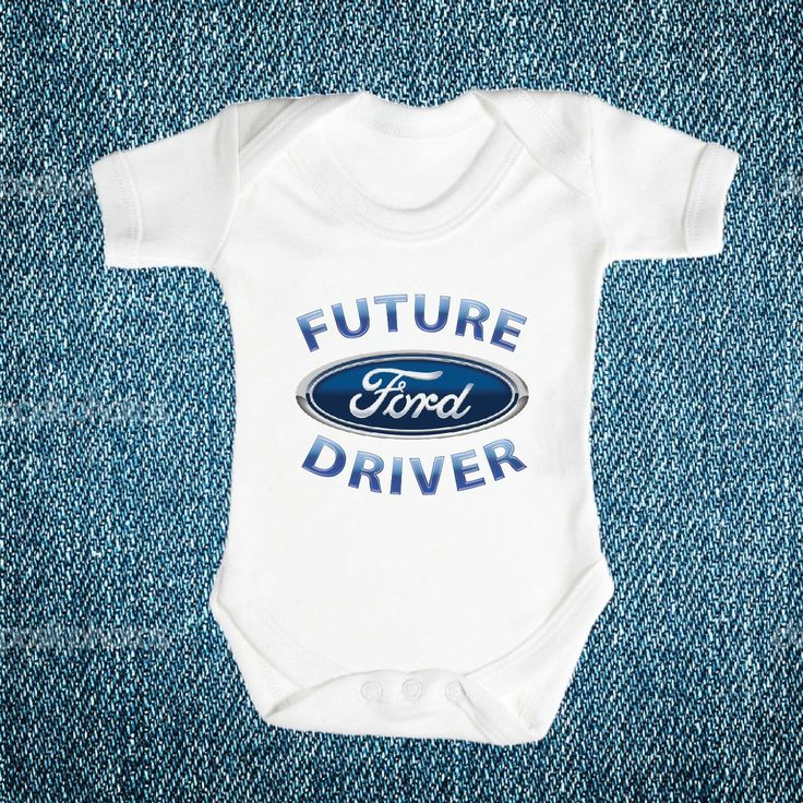 Future FORD Driver Brand New Baby Romper, Babies Clothes One Piece Romper Shower