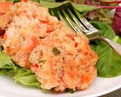 Boulettes de saumon