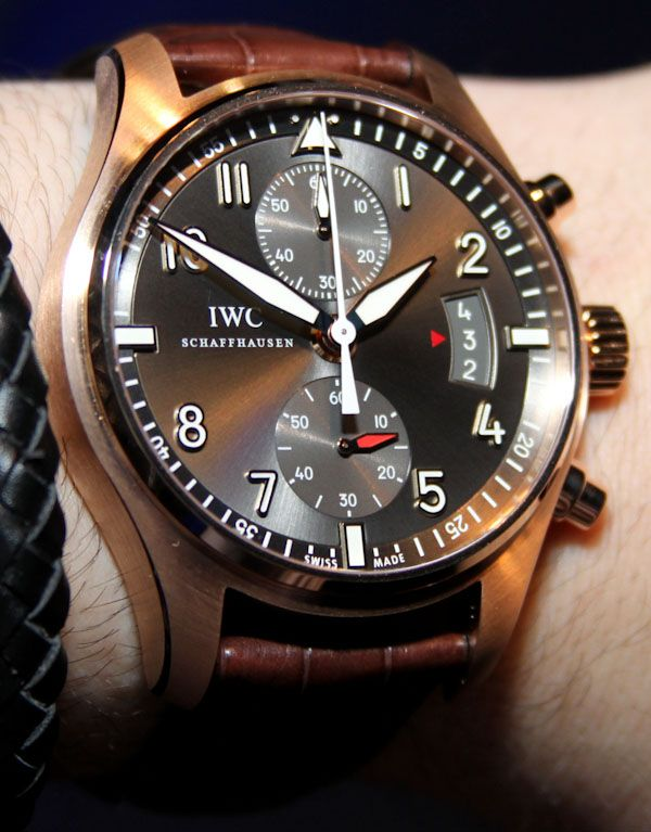 IWC Spitfire Chronograph & Perpetual Calendar Watches For 2012 Hands-On    --  These are so gorgeous!