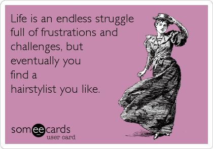 This is the most difficult life task for a curly haired lady like myself lol