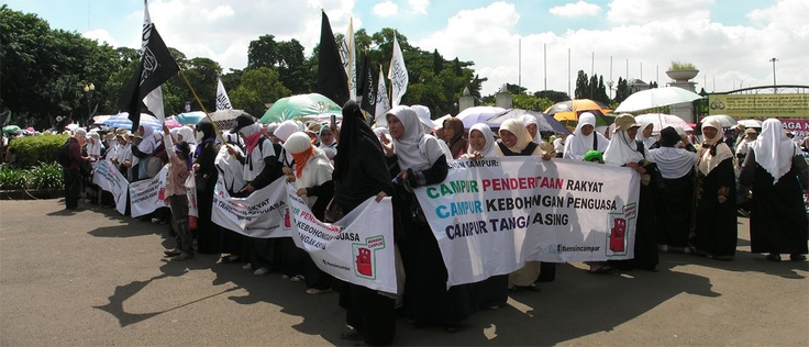 BBM Demontration by the Moslems?