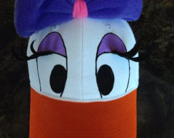 Daisy Duck Style Cap - Child / Adult
