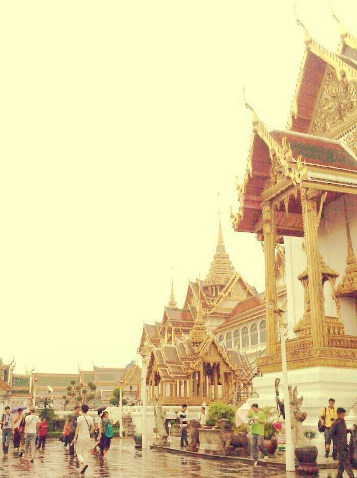 Small part of Grand Palace, Bangkok, Thailand