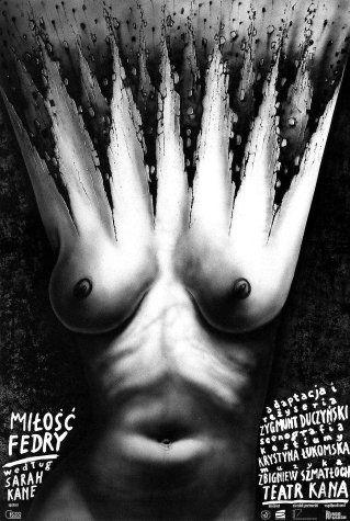 Leszek Zebrowski, Milosc Fedry theater poster