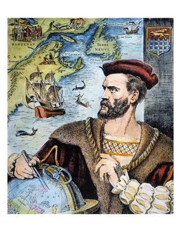 """Jacques Cartier (1491-1557) .was a French explorer of Breton origin who claimed what is now Canada for France.[1][2][3][4] He was the first European to describe and map[5] the Gulf of Saint Lawrence and the shores of the Saint Lawrence River, which he named """"The Country of Canadas"""", after the Iroquois names for the two big settlements he saw at Stadacona (Quebec City) and at Hochelaga (Montreal Island)."""