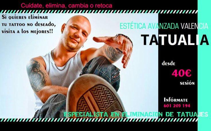 Eliminación de Tatuajes y Manchas Solares: Nuestros servicios de TATUALIA-Valencia