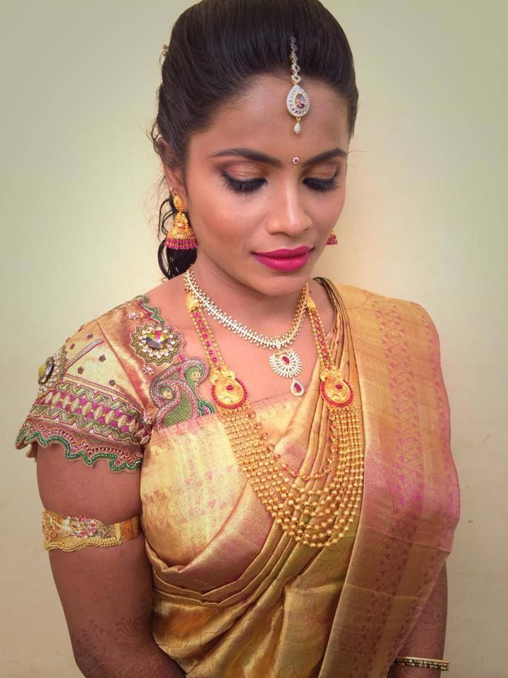 55 Best Images About South Indian Bridal Makeup On Pinterest