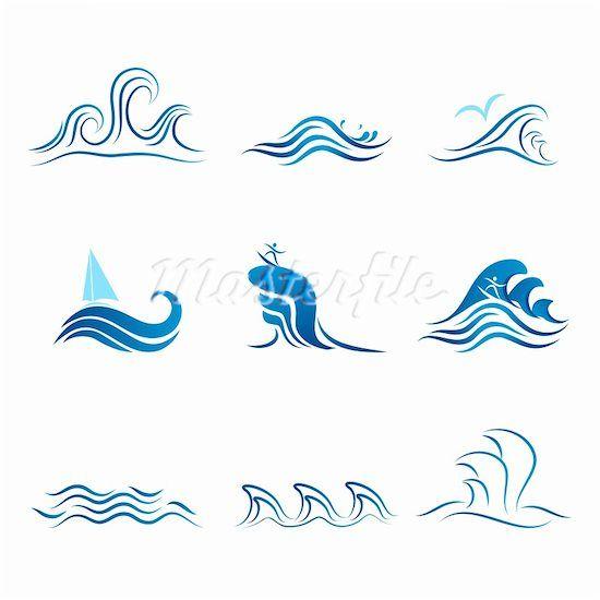 ocean symbol google search stencils tattoo ideas