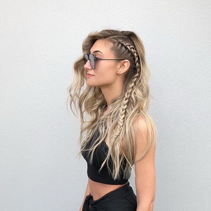 25 Side Braid Hairstyles Which Are Simply Spectacular ,  #braid #hairstyles #sim…