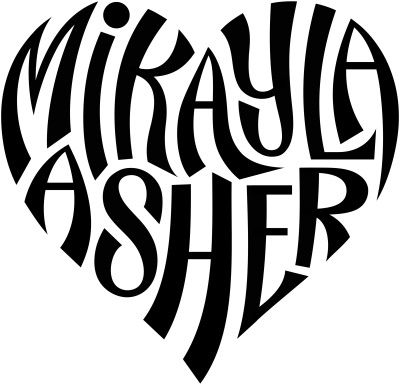 """Mikayla"" & ""Asher"" Heart Design by tiffanyharvey, via Flickr"