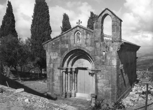 Igreja Românica de S. Gens de Boelhe, 1954