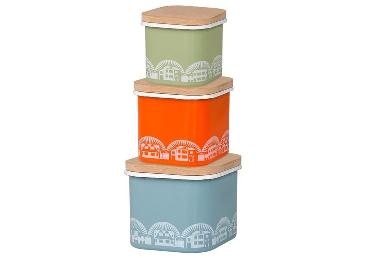 minimoderns enamel storage boxes