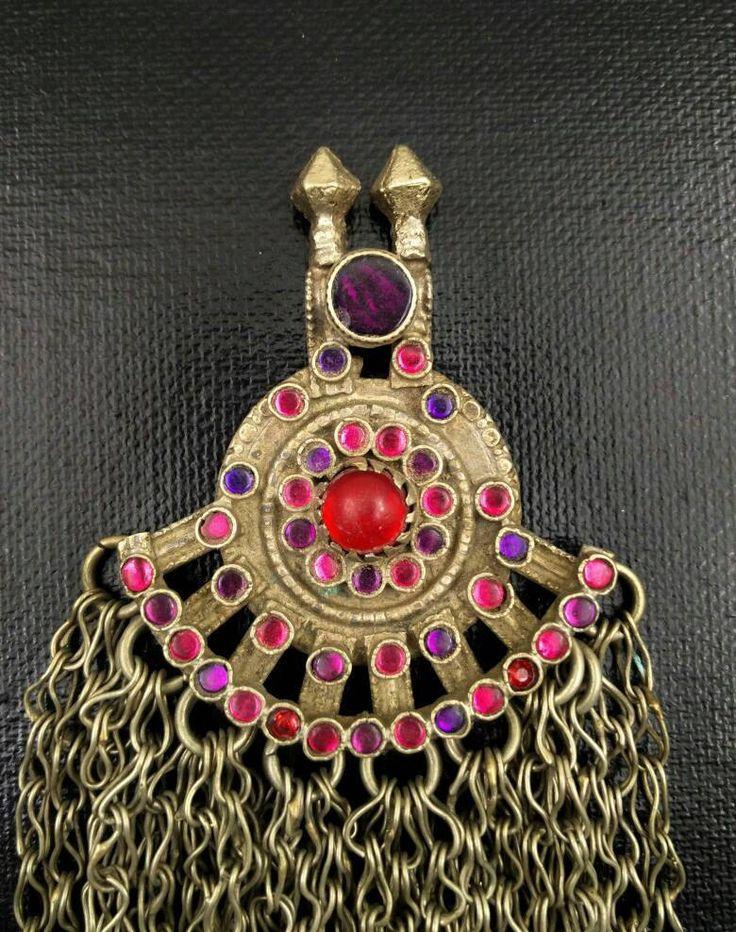 88 best vintage pendants images on pinterest bricolage build afghan tribal kuchi pendant handmade boho antique pendant traditional indian beautiful unique ethnic vintage banjara gypsy aloadofball Images