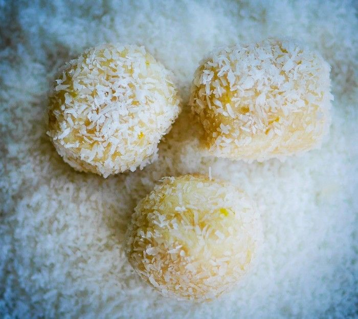 Thermomix Lemon and Coconut Balls - Raw 3