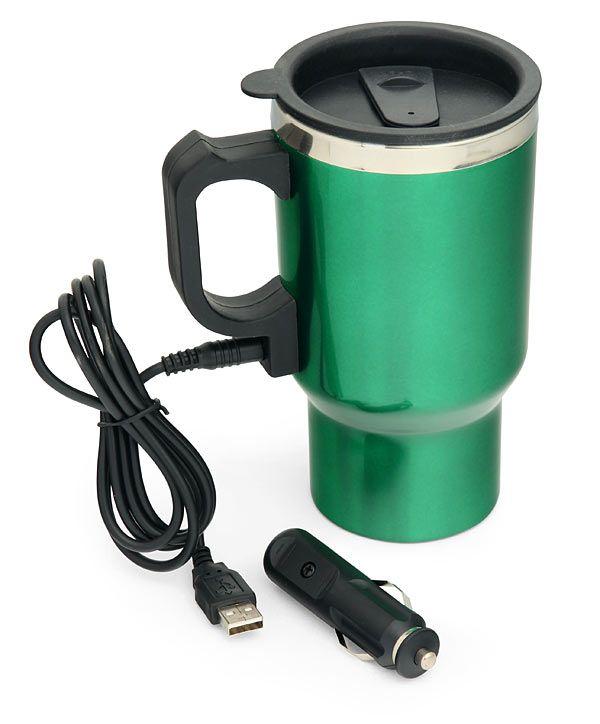 ThinkGeek :: Dual Heated Travel Mug