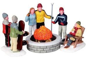Fire Pit, Set of 5, B/O (4.5v)