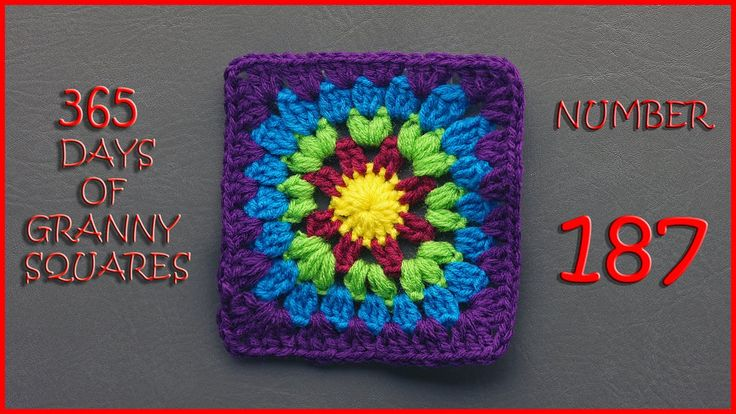 365 Days of Granny Squares Number 187